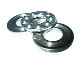 F4-10G Miniature Three-Part Grooved Thrust Bearing - 4x10x4mm