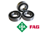 6801-2RS 61801-2RS 6801RS FAG INA Thin Section Sealed Bearing - 12x21x5mm